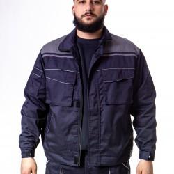 Radna bluza teget-tamnosiva