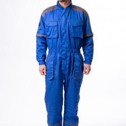 Radni kombinezon plavo-sivi