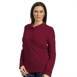 LINDA - Ženska pamučna polo majica dugih rukava
