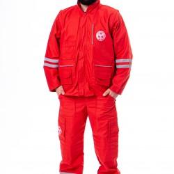Radno odelo crveno