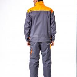 Radno odelo sivo-narandžasto