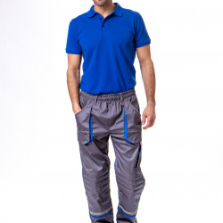 Radne pantalone sivo-plave