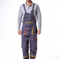 Treger pantalone sivo-narandžaste