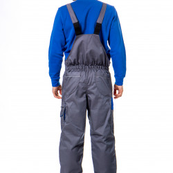 Treger pantalone sivo-plave