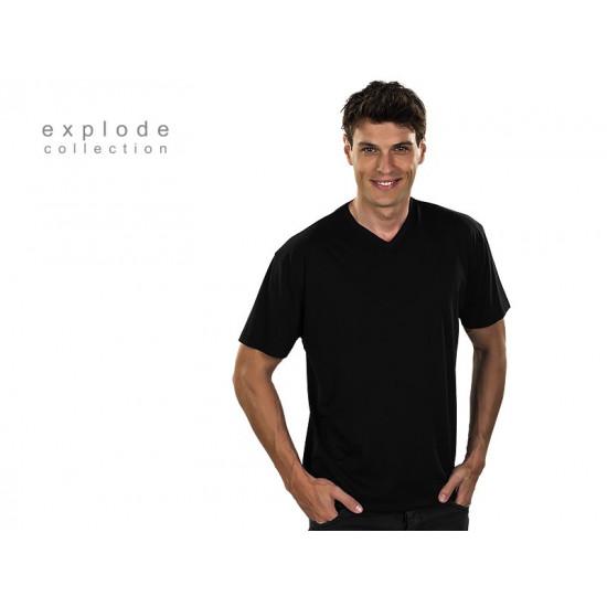 VASCO - Pamučna majica sa V-izrezom